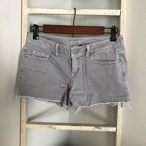 Gray Aeropostale Denim Jean Shorts